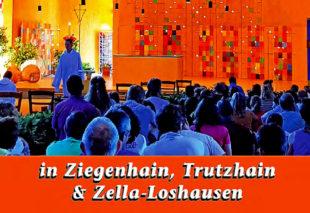 In Ziegenhain, Trutzhain und Loshausen finden monatlich ökumenische Taizé-Andachten statt. Foto: nh