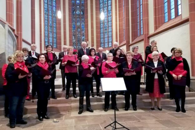 Cantare musica beim Tag der offenen Kirchentür am 1. Advent in der Homberger Stadtkirche. Foto: nh