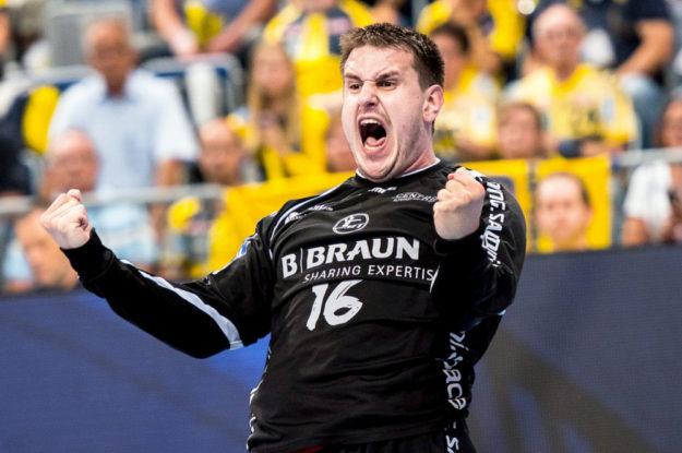 Wenn Nebojsa Simic die Fäuste ballt, sind die Fans nicht mehr zu halten. Foto: Alibek Käsler