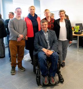 Christoph Spanknebel, Marion Springs, Jörg Blumenauer, Fabian Schade und Manuela Wolf (v.li.). Foto: Hephata