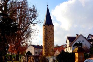 Der Eulenturm in Melsungen. Foto: Schmidtkunz
