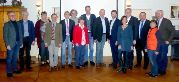 Der neue Vorstand des Vereins Schwalm-Aue. Foto: nh