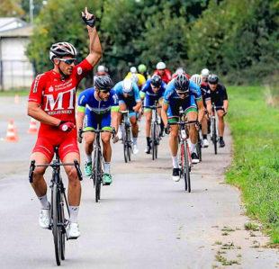 Er will auch 2019 zeigen wie es geht: Überlegener Sieger Roman Kuntschik beim vorletzten Rennen der Saison 2018 »Rund in Bünde«. Foto: nh