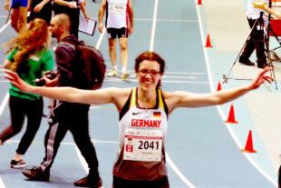 Luise Zieba hat sich für die Wettkämpfe in Worbis auf Zielkurs eingestellt. Foto: nh