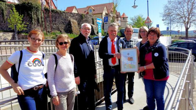 Kathrin Stuhlmann, Bärbel Bottenhorn, Hans-Dieter Nitsch, Heinz Marx, Jürgen Thurau, Iris Imberger, Hedwig Matys (re.). Foto: Gert Wenderoth