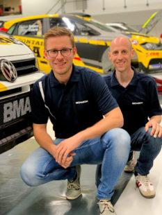 Christian Riedemann und Michael Wenzel steigen in die DRM-Rennserie ein. Foto: nh