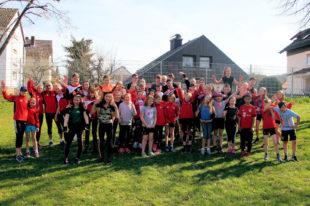 Der Remsfelder Leichtathletik-Nachwuchs war auf Schulung im Kreisjugendhof in Rotenburg. Foto: nh