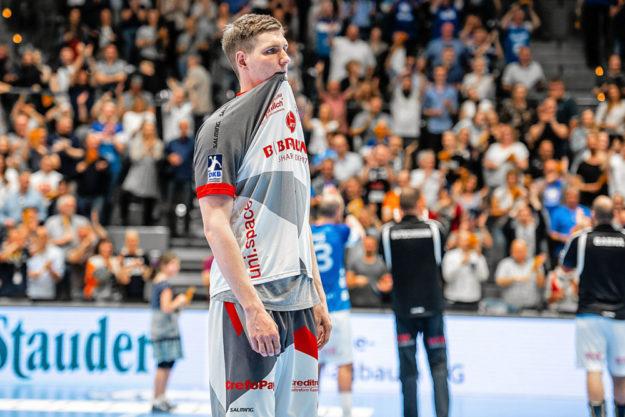 Finn Lemke konnte das Spiel nicht mehr rumreißen. Foto: Alibek Käsler