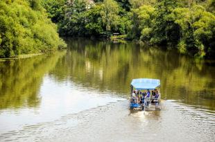 Zwischen einer und vier Stunden Floßfahrt können gebucht werden. Foto: Kultur- & Tourist-Info Melsungen