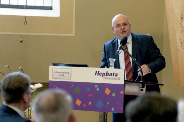 Prof. Dr. Edgar Franke. Foto: Hephata