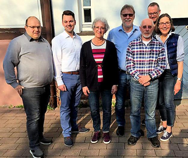 Daniel Diebel, Patrick Gebauer, Christa Ditscherlein, Detlef Schwierzeck, Peter Appenroth, Stefan Gsänger, Regine Müller. Foto: nh