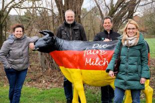 Fehr produziert fair – davon überzeugte sich die liberale Landtagsabgeordnete Wiebke Knell kürzlich persönlich während ihres Besuchs auf dem Hofgut in Wollrode. Foto: FDP