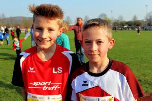 Linus Schopf und Jean Heilmann errangen einen Doppelsieg in der Laufdistanz über 1000 Meter. Foto: nh