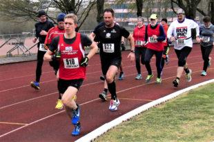 Lorenz Funck bestimmt vom Start bis ins Ziel das Tempo. Foto: nh
