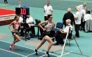 Luise Zieba hatte nach 1000 m mit 3_35 Minuten eine beeindruckende Zwischenzeit vorzuweisen. Foto: nh
