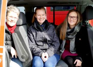 Die Organisatorinnen (v.li.): Bärbel Spohr, Ann-Kathrin Bühn und Julia Grunewald-Discher.