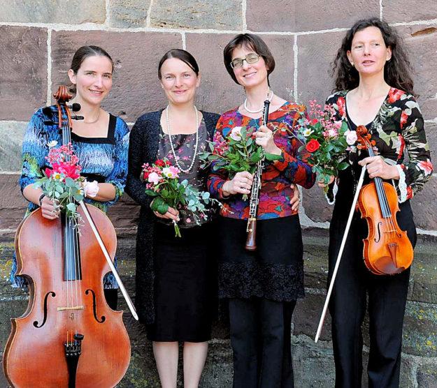 »Quattro con voce« – vier mit Stimme – gastieren am 4. Mai in der Hephata-Kirche. Foto: nh