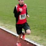 Stark verbessert zeigte sich auch Maximilian Hartmann als Sieger über 2000 Meter. Foto: nh
