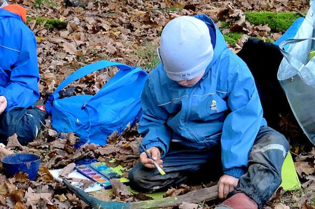 Ein klasse Kinderprogramm bietet der Wildpark Knüll 15 Grundschulkindern in den Osterferien. Foto: nh