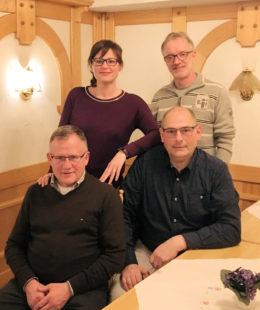 Durch Wiederwahl wurden die Ortsverbandsvorsitzende Beatrice Roß, Schatzmeister Horst Bierwirth und Schriftführer Markus Pollok im Amt bestätigt. Foto: nh
