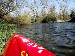 Das unbeschreibliche Naturidyll lockt die Kanuten aufs Wasser. Foto: nh