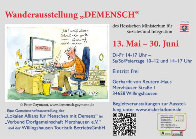 Das Plakat zur Ausstellung. Repro: nh