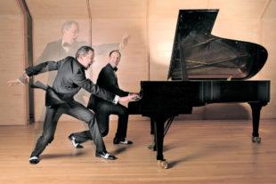 Wo diese beiden Virtuosen auftauchen, kann es nur ein Crazy Concert geben. Foto: nh