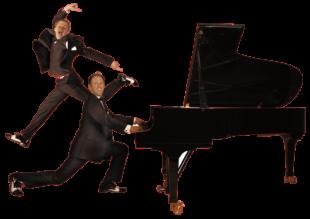 Marcel Dorn und Stephan Weh bieten Pianotainment, wie man es nur selten zu hören bekommt. Foto: nh