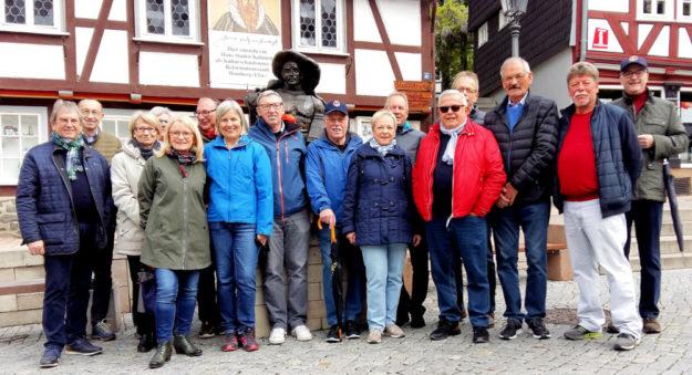 Lionsfreunde aus Mödling bei Wien besuchten ihre Gesinnungsgenossen in Homberg. Foto: nh