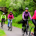 Auf dem Bahnradweg geht es am 19. Mai um Radspaß im Rotkäppchenland. Foto: Tourismusservice