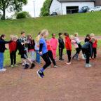 Seilspringen ist ein Alternativangebot und wurde von vielen Athlet(inn)en genutzt. Foto: Brandt