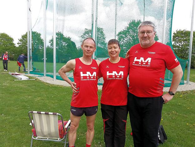 Die Senioren der MT-Melsungen, die mit fünf Vize-Meisterschaften zurückkehrten. Foto: nh