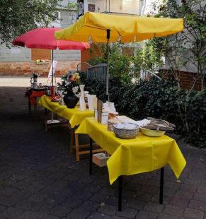 Das Repair-Jubiläum wird mit einem zusätzlichen Hinterhof-Flohmarkt gefeiert. Foto: nh