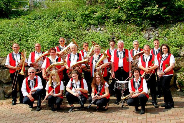 Die Knüllwaldmusikanten Oberbeisheim spielen zu Himmelfahrt auf. Foto: nh