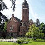 Hephata-Kirche, Kirche der Diakonie, und manchmal auch Konzertsaal. Foto: nh