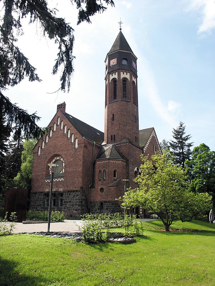Hephata-Kirche, Kirche der Diakonie, und gelegentlich auch Konzertsaal. Foto: nh