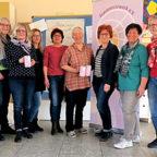 Von links: Elisabeth Plock, Maria Weber, Judith Graap, Michaela Laudenbach, Karin Glathe, Marion Eisenhuth, Birgit Hering und Martina Theis. Foto: nh