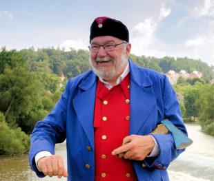 Jedermann-Stadtführung mit dem Bartenwetzer. Foto: Kultur- & Tourist-Information