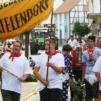 Die Kirmesburschen Frielendorf marschieren wieder. Foto: Rainer Sander