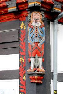 Der »Marktmeister«. Foto: Tourist-Info Melsungen