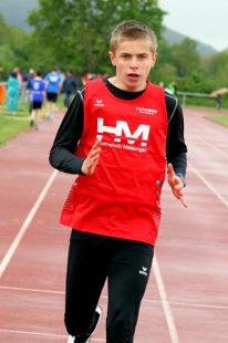 Niclas Dittmar beherrschte sowohl die 100 als auch die 200 Meter. Foto: nh