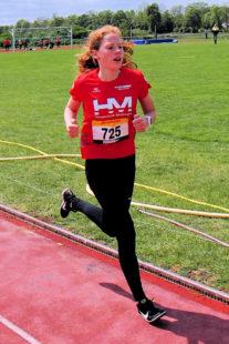 Pia Gille siegte im 800m-Lauf der W14. Foto: nh