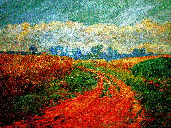 Gemälde von Henriette Schmidt-Bonn (1873-1947). Repro: nh