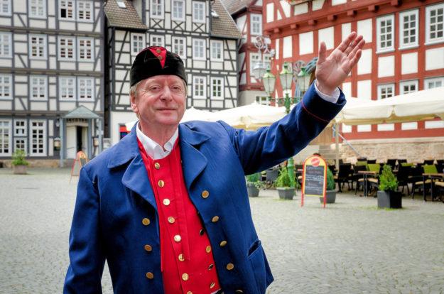 In Melsungen besteht ein Fachwerkensemble aus gut 400 Häusern. Foto: Kultur- & Tourist-Information