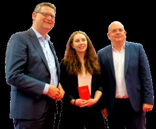 Torsten Schäfer-Gümbel, Zoe Henss und Dr. Edgar Franke. Foto: nh