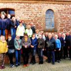 Gruppenbild während der Besichtigung der Lux-Mühle in Borken-Kerstenhausen. Foto: Dieter Werkmeister