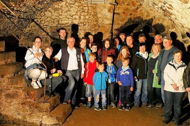 Den geführten Abstieg in das »unterirdische Treysa« bietet der Stadtgeschichtliche Arbeitskreis wieder an. Foto: nh