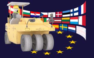 Die Bündnisgrünen laden dazu ein, Europa neu zu bauen. Repro: gsk