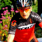 Thorsten Damm gewinnt den Bergmarathon im Odenwald. Foto: nh
