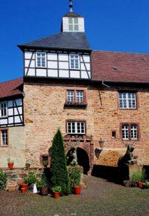 Das Schloss Hirschgarten ist erstmals Veranstaltungsort im Kultursommer Nordhessen. Foto: nh